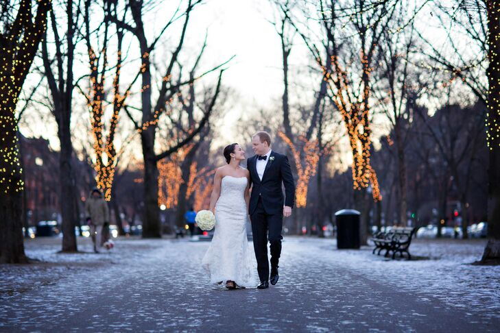 An Elegant Winter Wedding At The Mandarin Oriental In Boston Machusetts