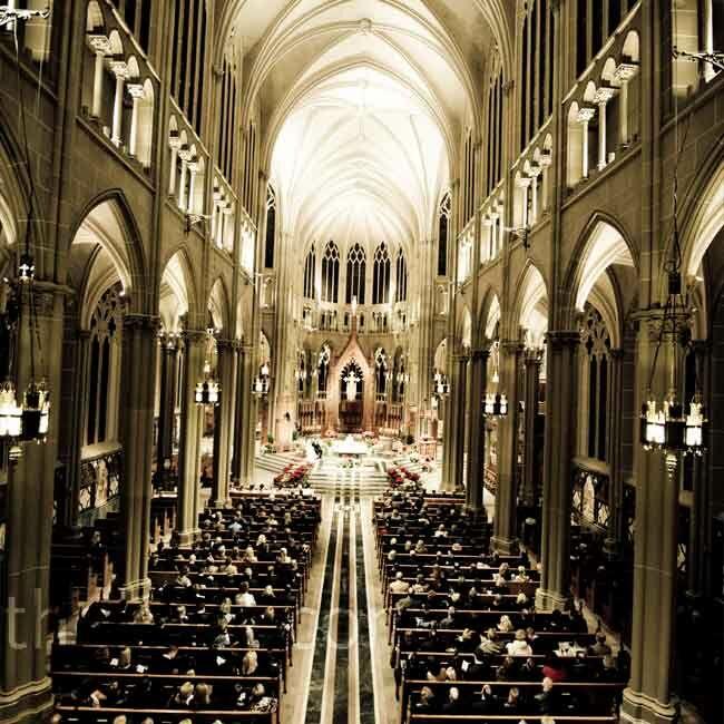 Indoor Wedding Ceremony Victoria Bc: Gothic Cathedral Ceremony