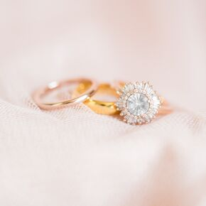 Modern Elegant Wedding Rings