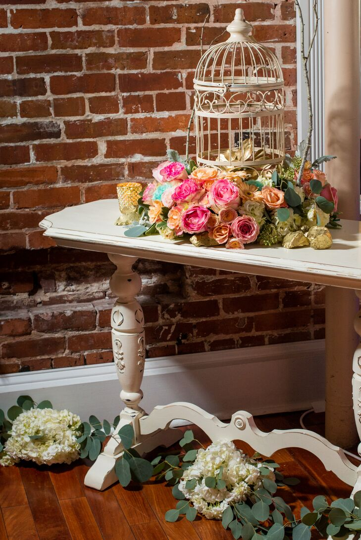 Shabby Chic Reception Decor