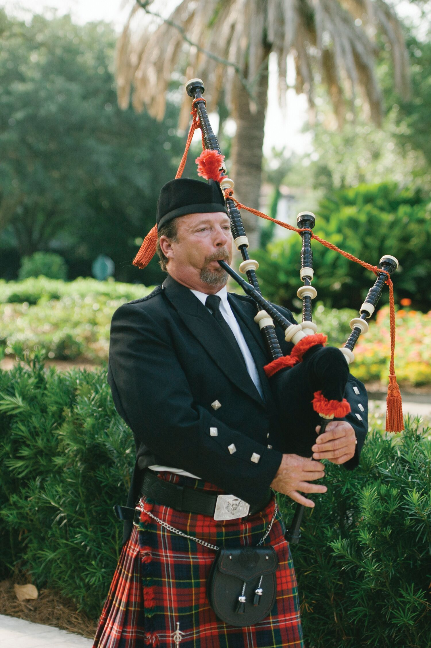 Traditional Scottish Bagpipe Player Recessional Music