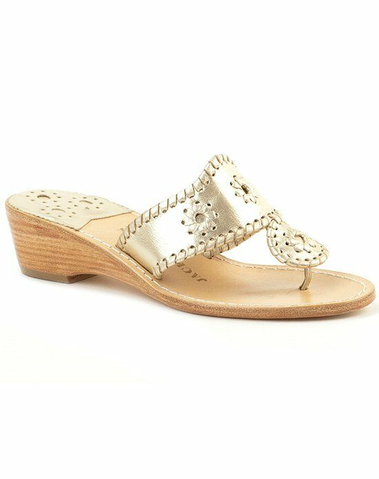 Jack Rogers Hamptons Mid Wedge-Champagne Wedding Accessory photo