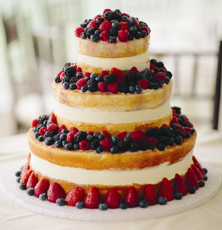 Cooking Themed Bridal Shower Cake