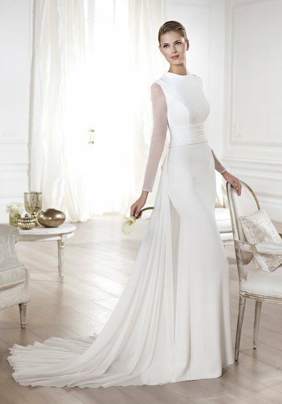 PRONOVIAS Yelice Wedding Dress photo