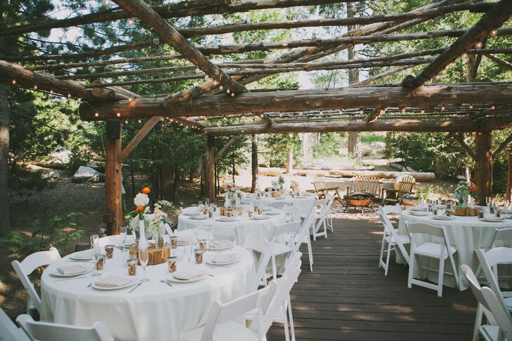 A Rustic Mountain Wedding At Pine Rose Cabins In Lake