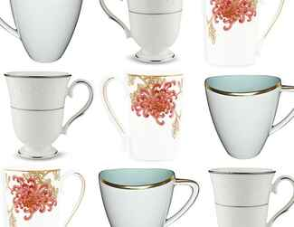 Mugs on wedding registry