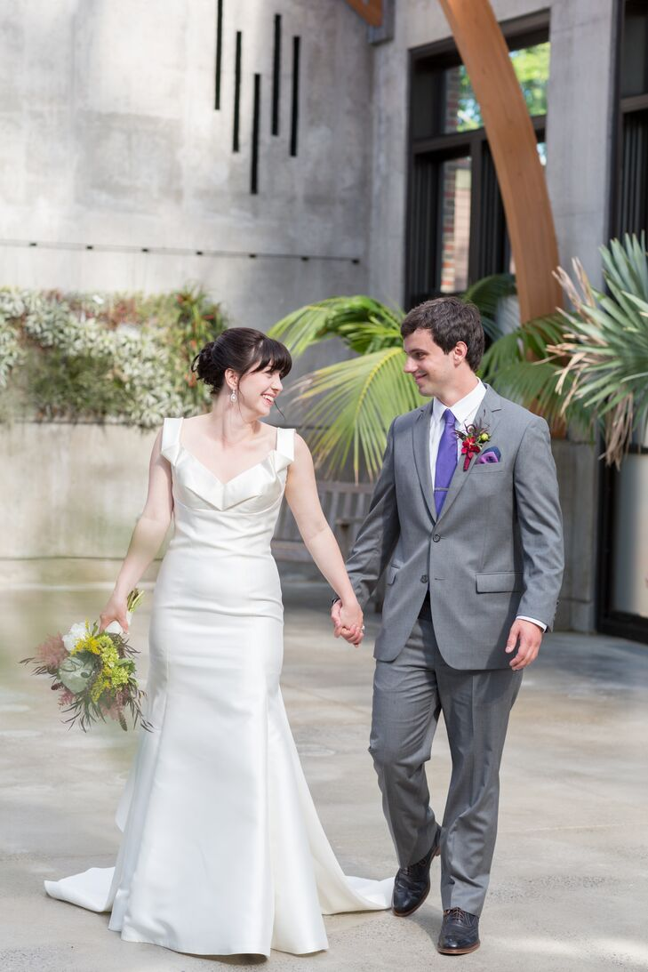 contemporary garden wedding at tower hill botanic garden in boylston massachusetts - Tower Hill Botanic Garden Wedding