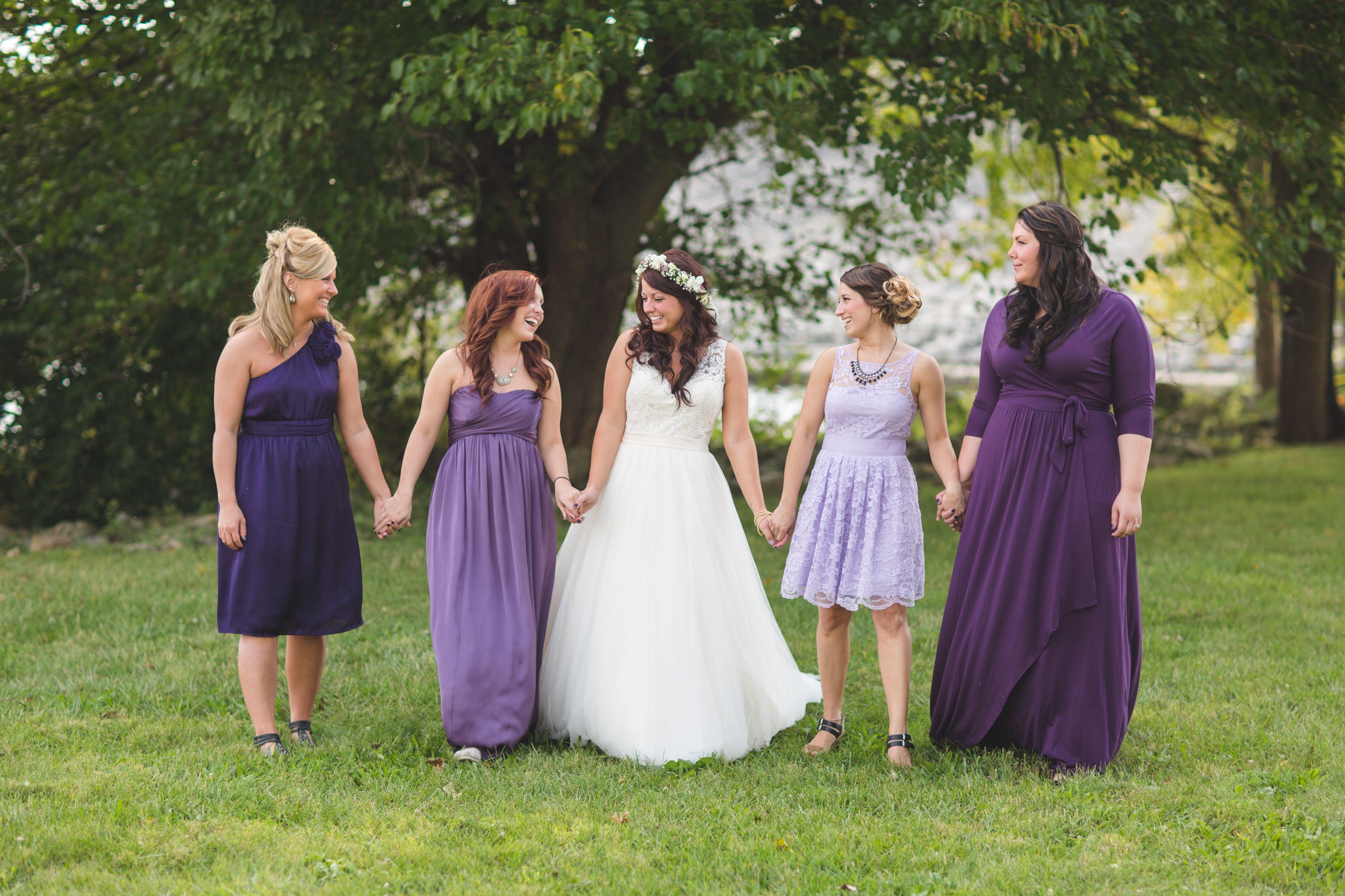 lilac bridesmaid and groom - HD4743×3162