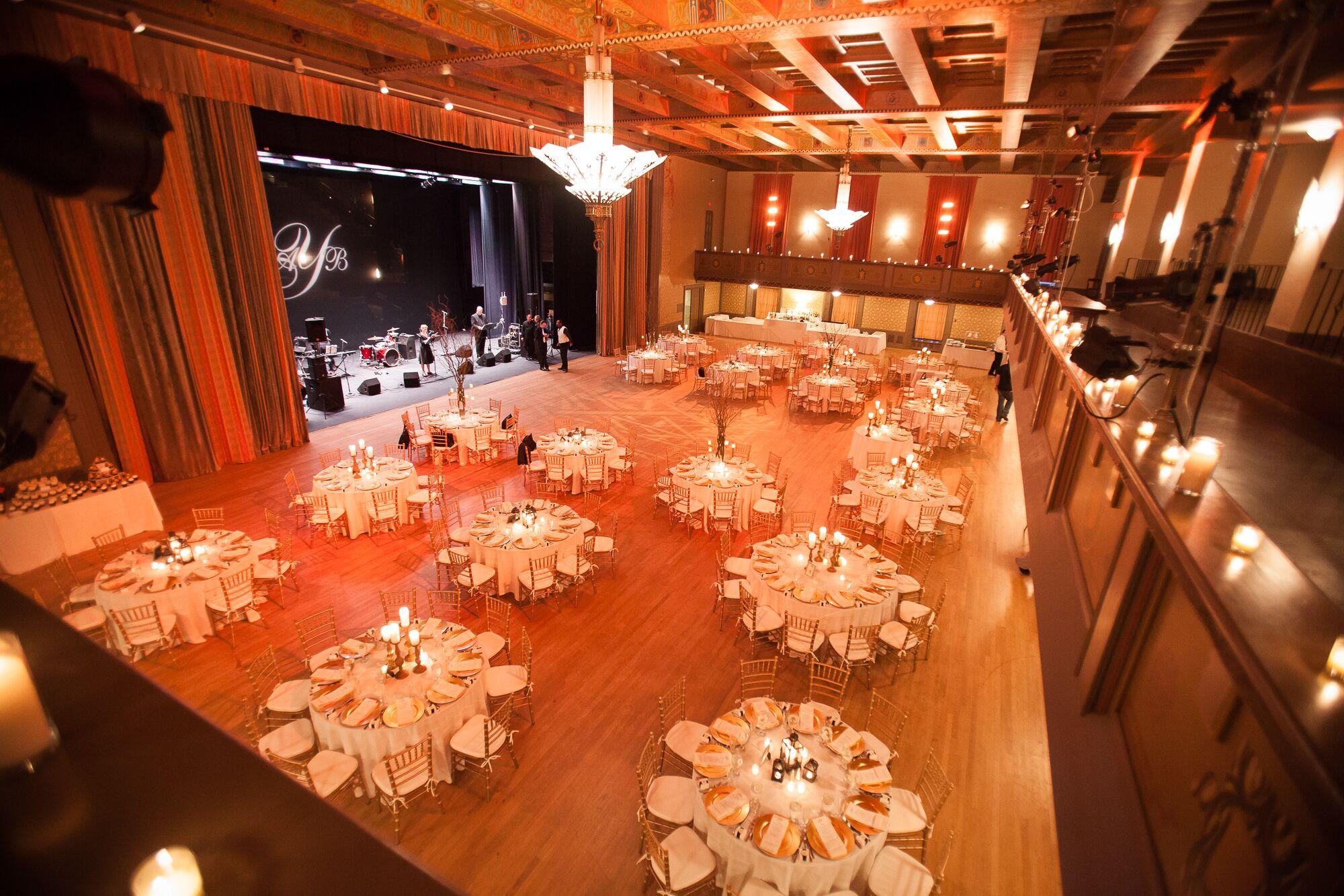 Ballroom Reception At Scranton Cultural Center