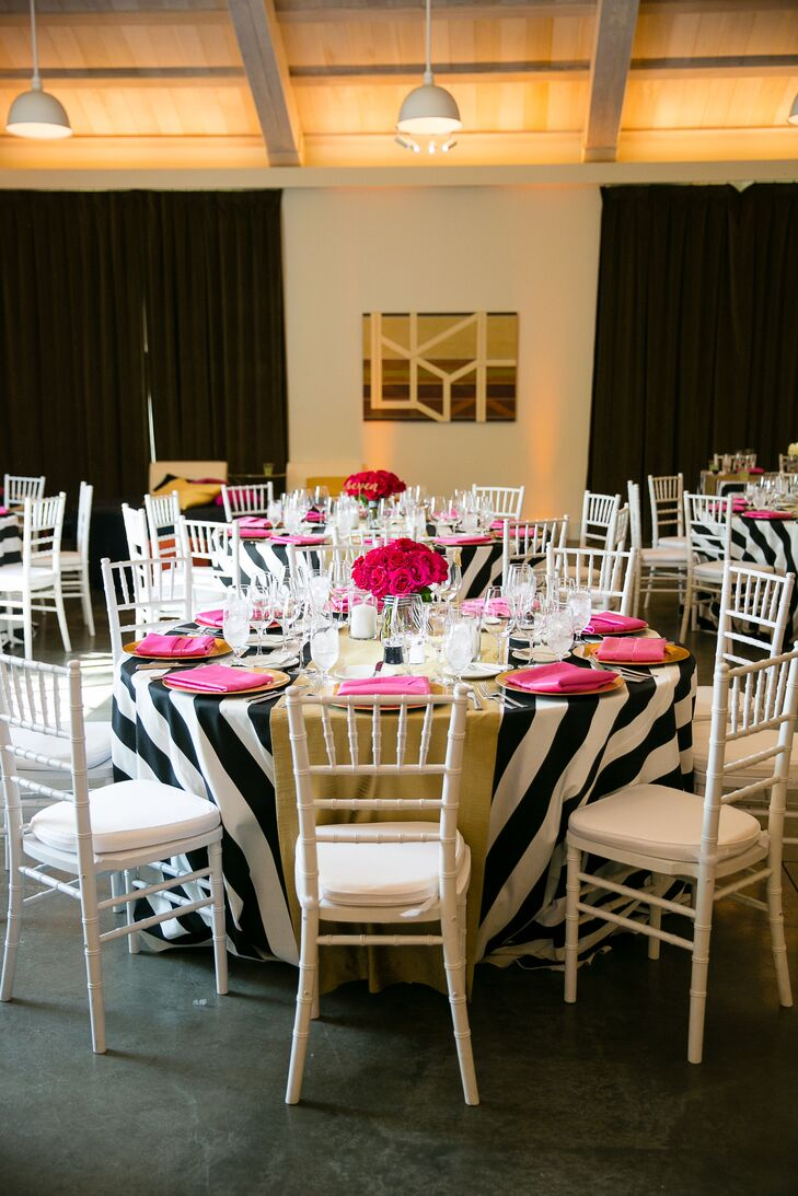 Kate Spade Inspired Wedding Decor