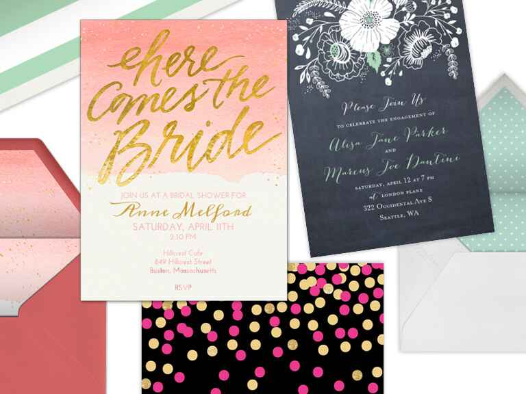 Best Wedding Invitation Wording: 5 Online Invitation Vendors We Love