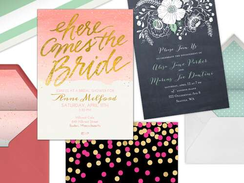 Bridal Shower Invitation Wording Ideas and Etiquette – Wedding Shower Invitations Online