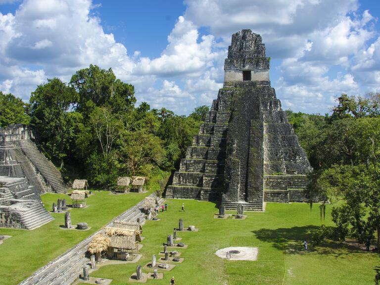 Tikal Mayan ruins in Belize