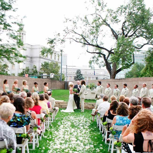 The Denver Art Museum Wedding