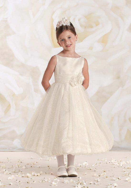 Joan Calabrese by Mon Cheri 115322 Flower Girl Dress photo