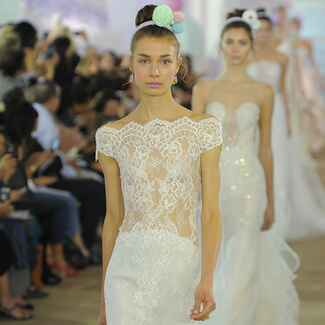 Ines Di Santo Fall/Winter 2017 Bridal Fashion Week Wedding Dresses