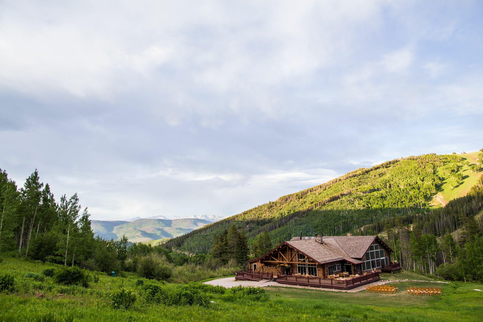 Beano 39 s cabin wedding venue in avon colorado for Beano s cabin beaver creek