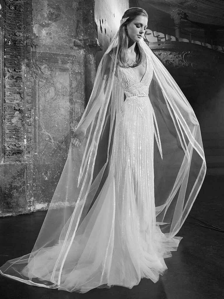 wedding dress elie saab elie saab fall 2018 collection bridal fashion week photos