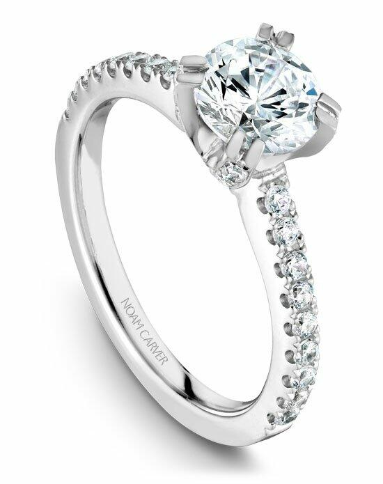 Noam Carver B002-01WS-100A Engagement Ring photo
