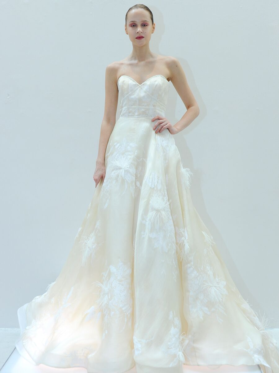 Romantic Wedding Dresses From Bridal Fashion Week