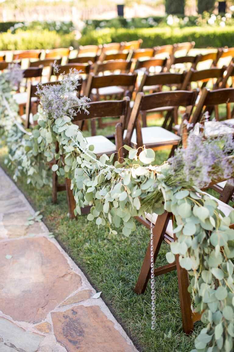 13 Genius Places To Hang A Wedding Garland