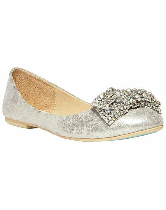 Blue by Betsey Johnson SB-EVER-Metallic Wedding Shoes photo