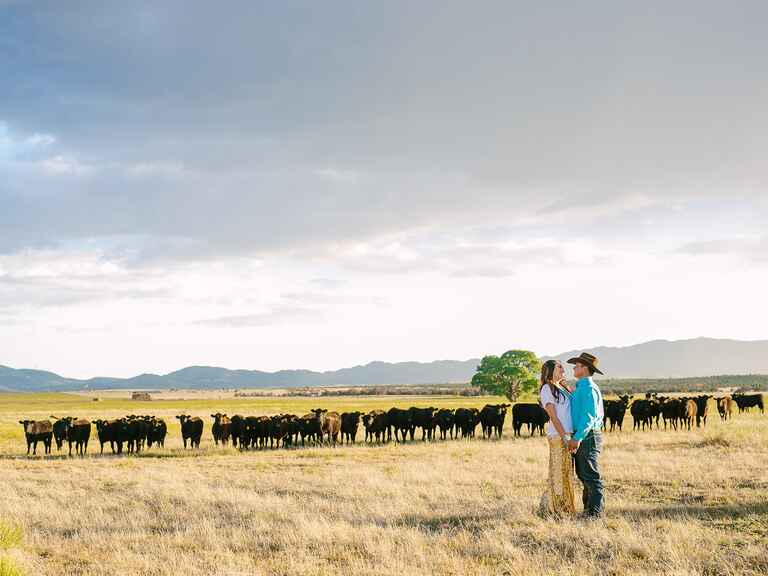 Arizona Cowboy Engagement Photo Session