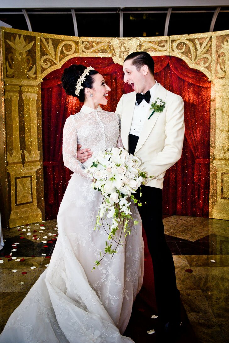 A Glamorous Victorian Inspired Wedding In Brooklyn Ny