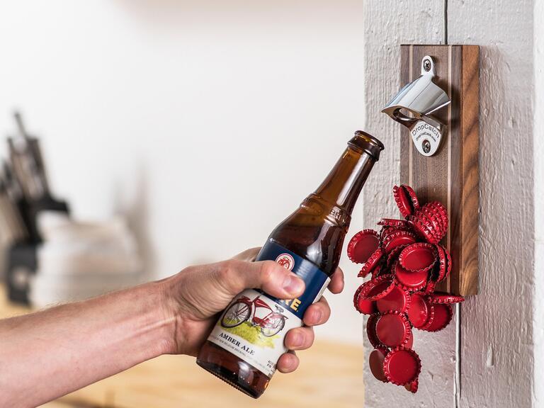 Dropcatch bottle-opener groomsmen gift ideas