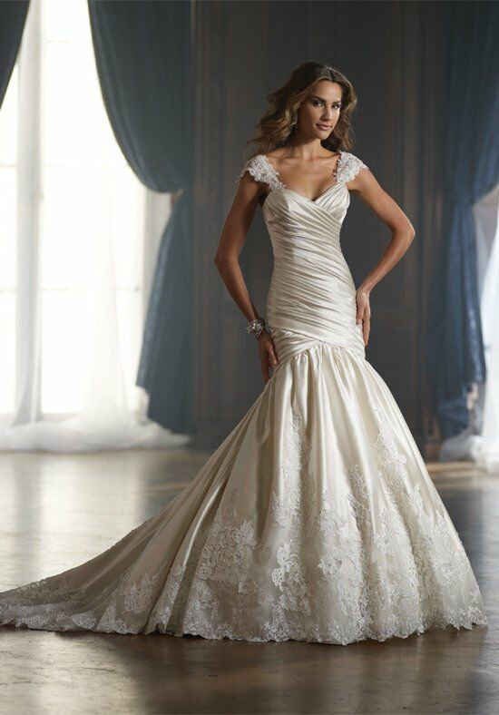 David Tutera for Mon Cheri 213256 Raine Wedding Dress photo