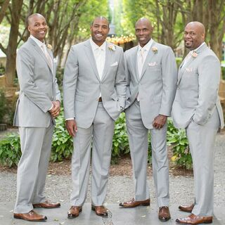 Real Wedding Tuxedos Suits
