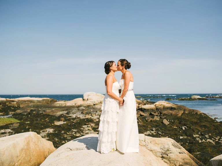 Maine Wedding By The Ocean