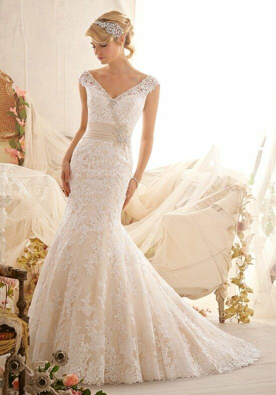 Mori Lee by Madeline Gardner 2608 Wedding Dress photo