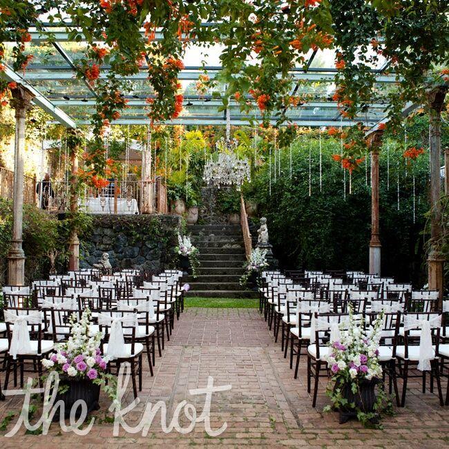 English Garden Wedding: English Garden Themed Wedding Ceremony