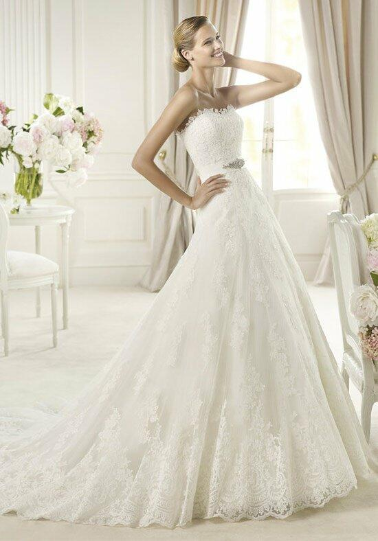 PRONOVIAS UCEDA Wedding Dress photo