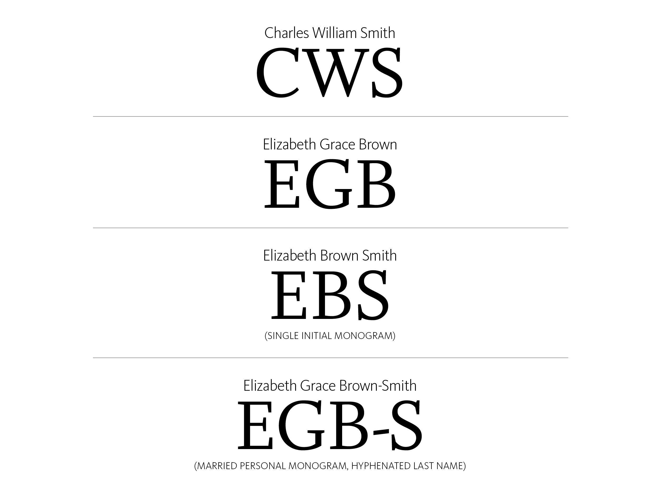 f38ed80b06 Monograms 101: How to Monogram