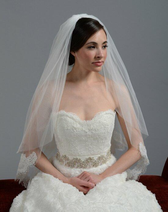 Tulip Bridal 2 Tier Lace Wedding Veil-V042 Wedding Veils photo
