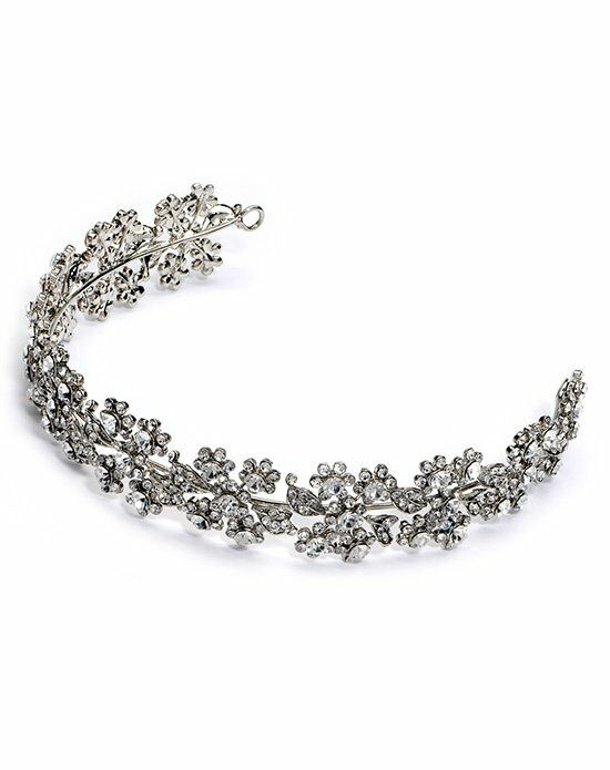 USABride Simone Antique Silver Headband TI-3171 Wedding Accessory photo