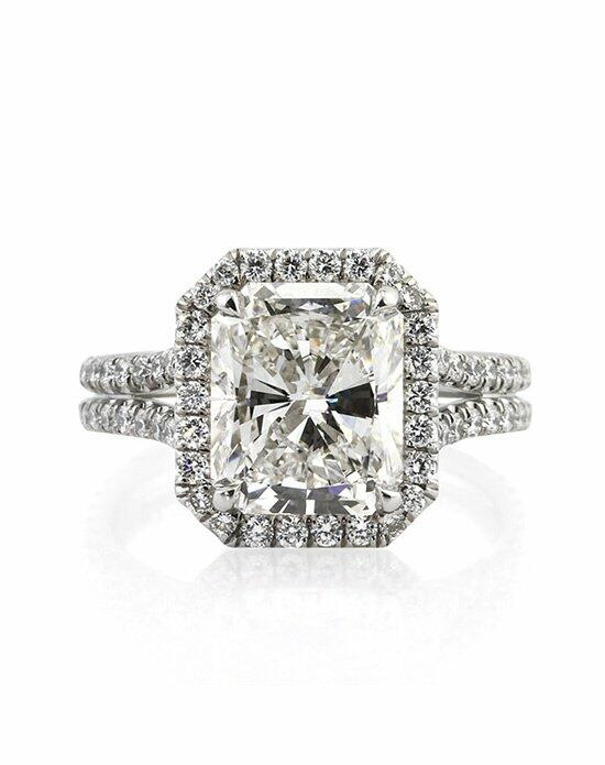 Mark Broumand 5.15ct Radiant Cut Diamond Engagement Ring Engagement Ring photo