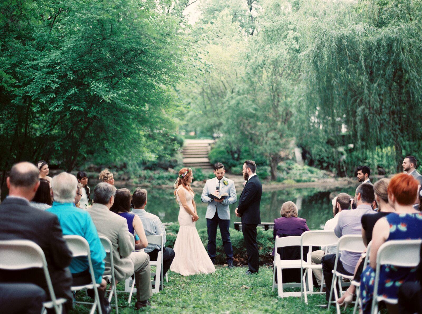 A Lafayette Square Park Wedding Ceremony