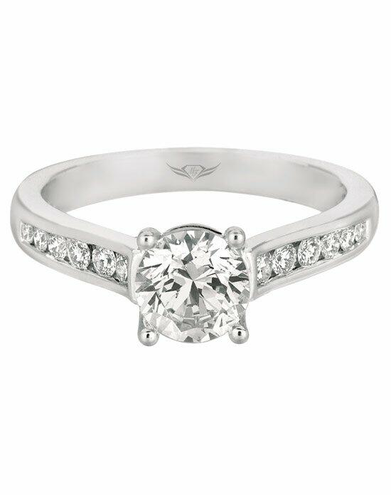 FlyerFit by Martin Flyer CT01RDQ-C-5.5RD Engagement Ring photo