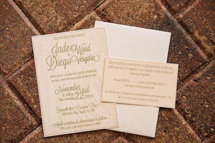 Dress Up Wedding Invitations From Kit