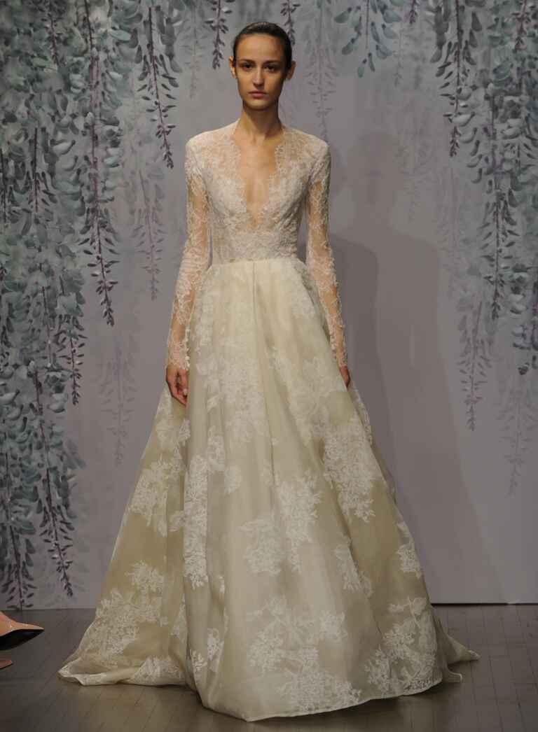 Monique lhuillier fall 2016 collection wedding dress photos for Monique lhuillier wedding dresses