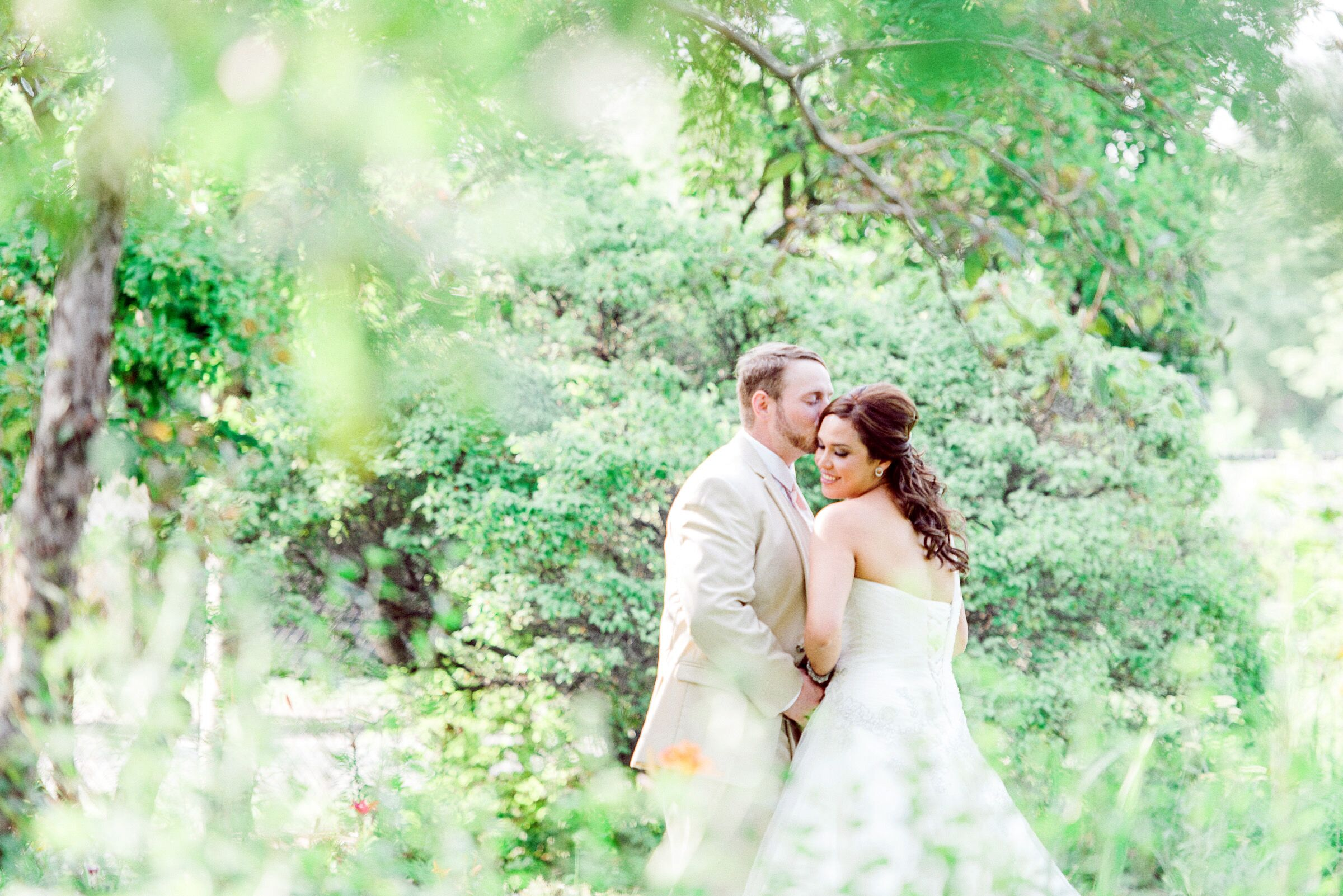 A Backyard Garden Wedding at a Private Residence in Sherwood Park, Alberta
