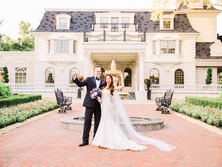 New Jersey mansion wedding