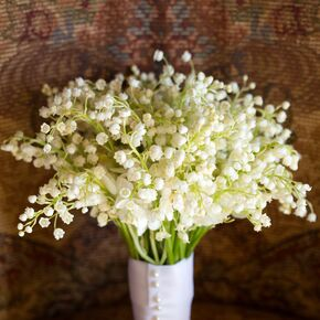 Lily Of The Valley All White Bouquet