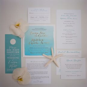 nautical wedding invitations, Wedding invitations