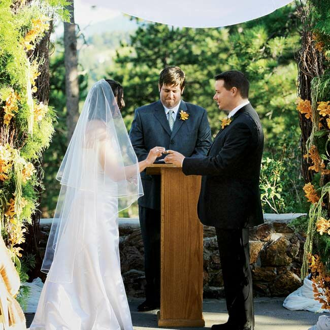 alexis amp phil an outdoor wedding in golden co