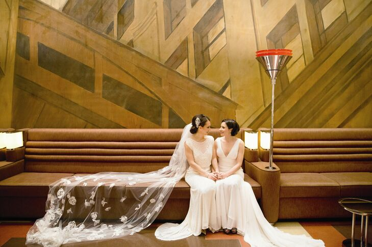 A Formal Glam Wedding At The New York Public Library In