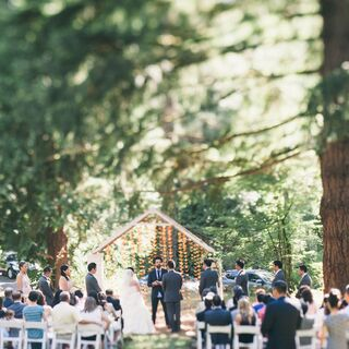 A Summer Woodland Wedding in Portland